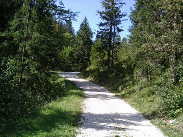Radweg am Aachenpass