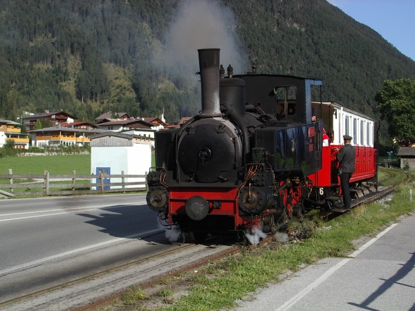 Dampflok bei Maurach