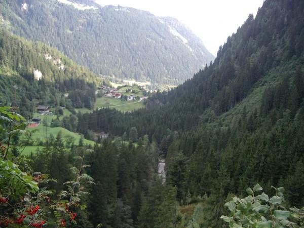 Blick zurück Richtung Zillertal
