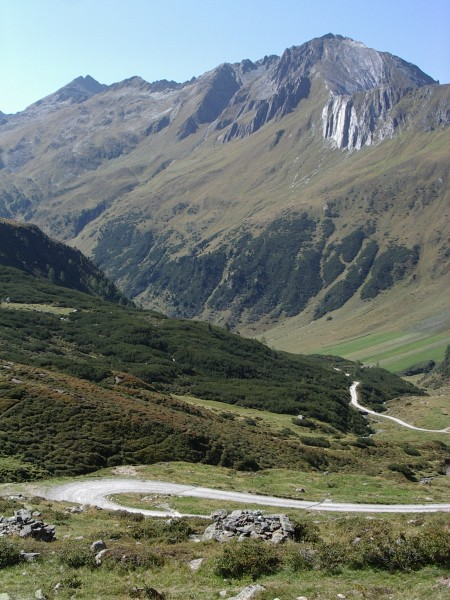Blick vom Klammlsee zurück Richtung Kuttental