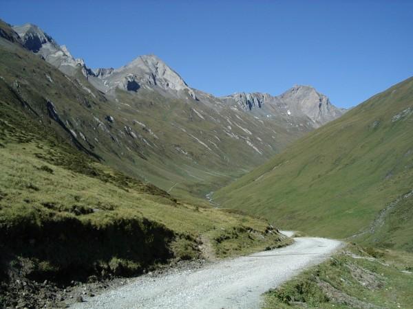 Blick vom Klammljoch nach Osttirol