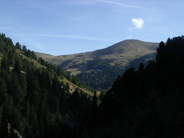 Blick von Schönfeld Richtung Nockberge