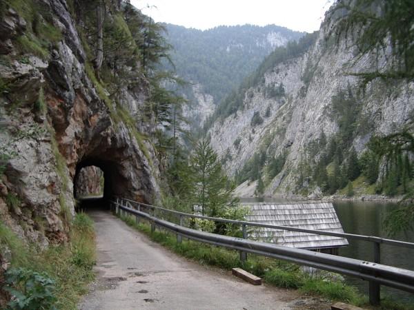 Tunnelchen am Salza-Stausee