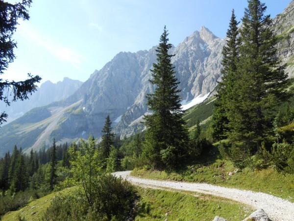 Vom Hochalmsattel Richtung Johannestal
