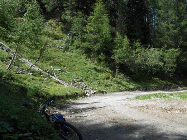 Steile Wege Richtung Pfunderer Joch