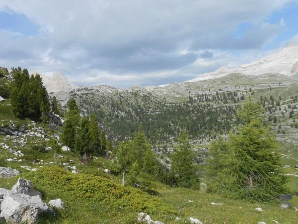 Zehnerkofel und Lavarella-Alm