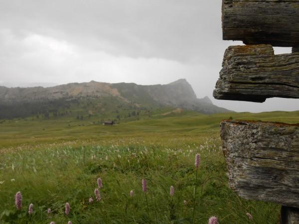 Regenpause an einer alten Sennhütte