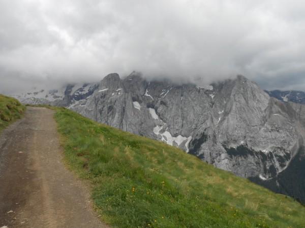 Marmolata in der Wolke