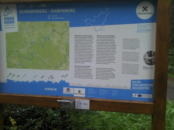 Stoneman-Tafel Scheibenberg